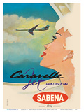 Sud Aviation Caravelle Jet - Sabena Belgian World Airlines