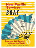 New Pacific Services - BOAC (British Overseas Airways Corporation)