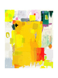 Abstract Composition Which Consists of a Plurality of Colored Layers