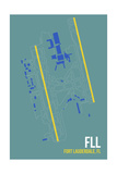 FLL Airport Layout