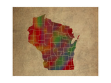 WI Colorful Counties