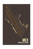 MEX Airport Layout