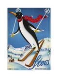 Travel Sports 034 Reproduction d'art par Vintage Lavoie
