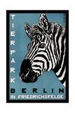 Berlin Zoo Reproduction d'art par Vintage Lavoie
