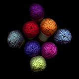 Colourful Balls Of Wool