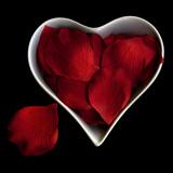 Love Overflowing - Heart Valentine Petals