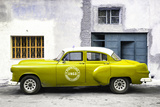 Cuba Fuerte Collection - Lime Green Pontiac 1953 Original Classic Car