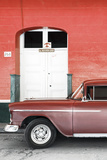 Cuba Fuerte Collection - Old Red Car II