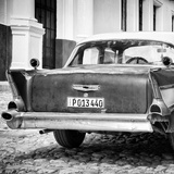 Cuba Fuerte Collection SQ BW - Vintage American Car