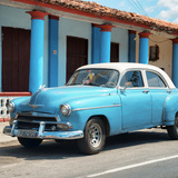 Cuba Fuerte Collection SQ - Turquoise Vintage Car