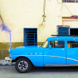 Cuba Fuerte Collection SQ - Havana Classic American Blue Car