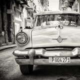 Cuba Fuerte Collection SQ BW - Taxi of Havana