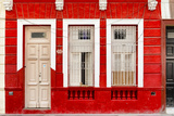 Cuba Fuerte Collection - 355 Street Red Facade