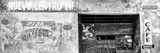 Cuba Fuerte Collection Panoramic BW - Cuban Street Advertising