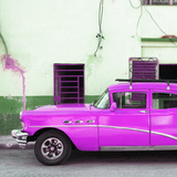 Cuba Fuerte Collection SQ - Havana Classic American Hot Pink Car