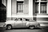 Cuba Fuerte Collection B&W - Cuban Taxi