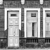 Cuba Fuerte Collection SQ BW - 355 Street Facade
