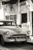 Cuba Fuerte Collection B&W - Chevrolet Classic Car III