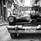 Cuba Fuerte Collection SQ BW - Taxi of Havana II