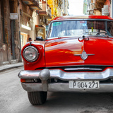 Cuba Fuerte Collection SQ - Red Taxi of Havana