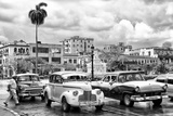 Cuba Fuerte Collection B&W - Vintage American Cars II