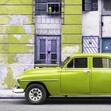 Cuba Fuerte Collection SQ - Lime Green Classic American Car Papier Photo par Philippe Hugonnard
