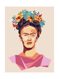 Frida Reproduction d'art par Rebecca Lane