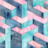 Watercolour Illusion Reproduction d'art par Elena Oneill