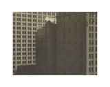 Manhatta - Skyscrapers in Shadows  Negative date: 1920