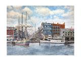 Detroit Water Front 1896