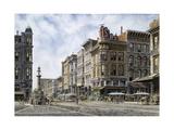 San Francisco: Latta's Fountain  Market & Geary Sts