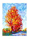 The Jester Reproduction d'art par Mandy Budan