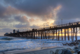 Sunset Through Oceanside Pier