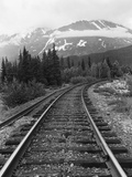 Railroad Tracks  Alaska 85