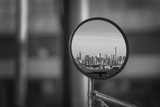 Reflection of NYC Skyline in Mirror