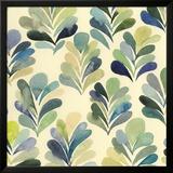 Watercolor Palms I Reproduction encadrée par Grace Popp