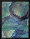 Gemstones III Reproduction encadrée par Grace Popp