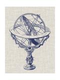 Armillary Sphere on Linen II