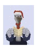 Ostrich  Carol Singing