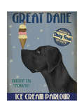 Great Dane  Black  Ice Cream