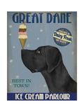 Great Dane  Black  Ice Cream