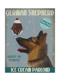 German Shepherd Ice Cream