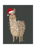 Llama  Christmas Lights 1