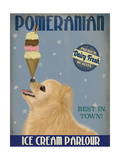 Pomeranian Ice Cream