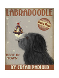 Labradoodle  Black  Ice Cream