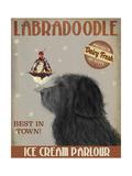 Labradoodle  Black  Ice Cream