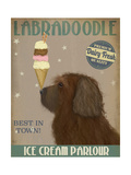 Labradoodle  Brown  Ice Cream