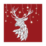 White Deer and Hanging Stars