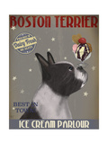 Boston Terrier Ice Cream