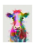 Rainbow Splash Cow